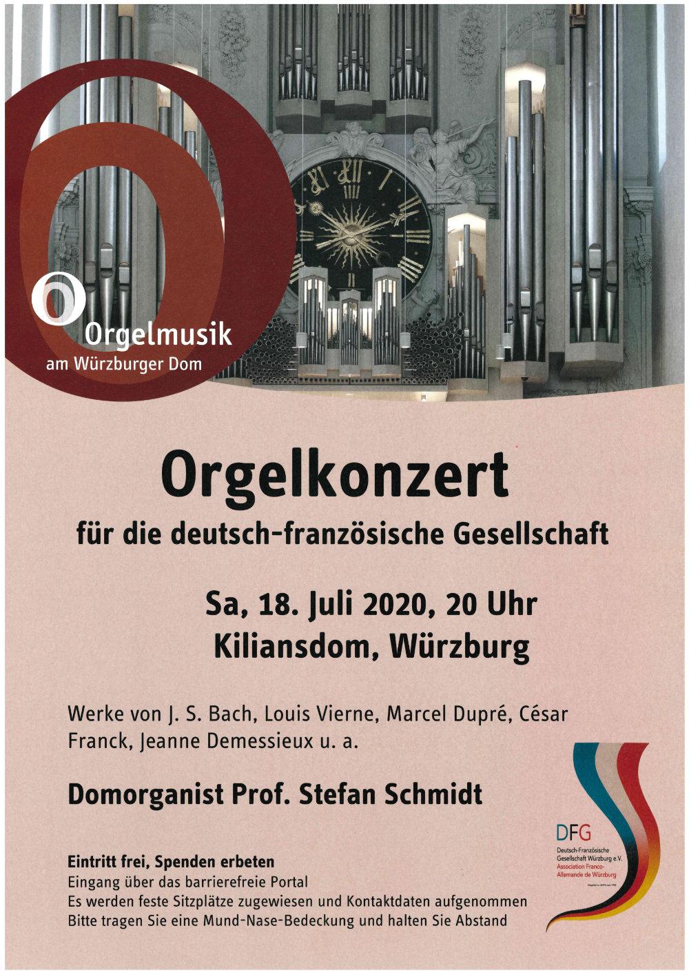 DFG Wuerzburg Orgelkonzert